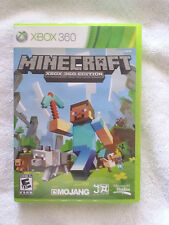 MINECRAFT: XBOX 360 EDITION MICROSOFT XBOX 360 GAME DISC AND CASE