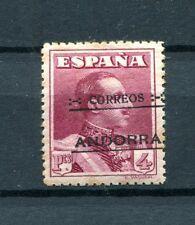 1928.ANDORRA.EDIFIL 11*.NUEVO CON FIJASELLOS.FIRMADO CAJAL.CAT. 132 €