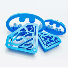Cake Cutter Batman Superman Cake Fondant Cookie Biscuit Baking Plunger Cutter