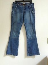 Women's Vintage Abercrombie & Fitch Blue Carpenter Jeans size 2