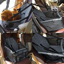 Folding Pet Dog Cat Puppy Car Seat Safe Belt  Basket Booster Travel Carrier Bag
