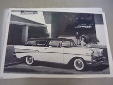 1957  CHEVROLET NOMAD WAGON 12 X 18 LARGE PICTURE    PHOTO