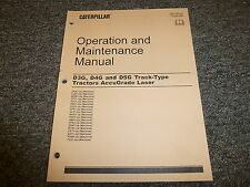 Caterpillar CAT D3G D4G Track Type Tractor AccuGrade Laser Owner Operator Manual