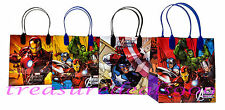 12 Marvel Avengers Party Favors Gift Toy Bags Thor Hulk Iron Man Birthday Treat