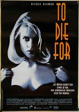 (Gerollt) Kinoplakat - To Die For (1995) Nicole Kidman, Matt Dillon #31208