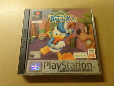 PS1 GAME / DISNEY'S DONALD DUCK: QUACK ATTACK (PLAYSTATION 1)