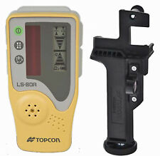 New Topcon LS-80A Rotating Laser Level Detector with Rod Mount