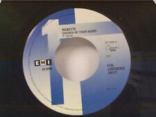 "ROXETTE ""CHURCH OF YOUR HEART / I CALL YOUR NAME"" 45"
