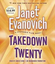 Stephanie Plum: Takedown Twenty by Janet Evanovich (2014, CD, Unabridged)