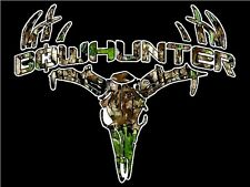 "3.25"" CAMO BOWHUNTER Bow Hunting Sticker / Decal Archery compound bow and arrow"