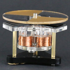 MS Mini Disk Engine Round Solar Magnetic Levitation Motor Toys KM09