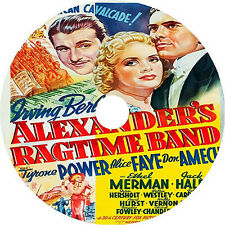 Alexander's Ragtime Band _ Tyrone Power Alice Faye Don Ameche 1938 dvd