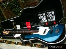 ♚RARE♚2001 FENDER American Standard JAZZ BASS USA♚OCEAN TURQUOISE!♚TAGS♚ SUPERB!