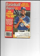Joe Carter Blue Jays Baseball Digest Sept. 1993