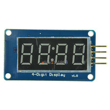 Imported 10PCS 4Bits Digital Tube LED Display TM1637 Module With Clock f Arduino
