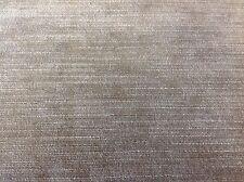 Kirkby/Romo Slubby Texture Velvet Upholstery Fabric-Orion/Hemp (K5058/22) 4.25yd