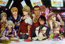 TIGER & BUNNY mini poster official anime