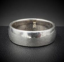 James Avery Sterling Silver Athena Wedding Band Ring Size 6.75 WB-87 RS1422