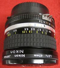 Nikkor 20mm 1:2.8 Ultra Wide Angle Lens (Extremely Nice Shape)