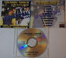cd: YOUSSOU NDOUR & LE SUPER ETOILE - LE GRAND BAL VOL. 1 & 2 - AFRICA