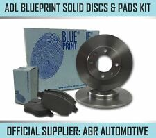 BLUEPRINT REAR DISCS AND PADS 269mm FOR TOYOTA PRIUS 1.5 HYBRID (NHW20) 2004-10