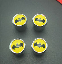 4PCS Batman Tire Wheel Rims Stem Air Valve Caps Tyre Cover Car Truck Bike