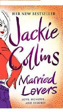 JACKIE COLLINS ___ MARRIED LOVERS ____ NUOVO _ FREEPOST UK