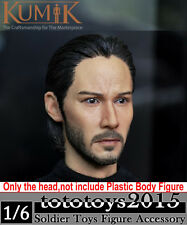"1/6 KUMIK 15-5 47 ronin Kai Keanu Reeves Man Male Head F 12"" HT Toys Body Figure"