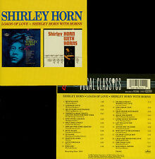 SHIRLEY HORN  loads of love + shirley horn with horns