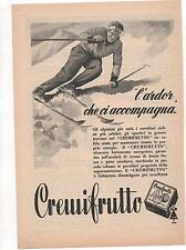 Pubblicità vintage MARMELLATA CREMIFRUTTO PARMA advert reklame werbung publicitè