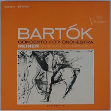 BARTOK: Concerto for Orchestra, Reiner RCA VICS-1110 Victrola LP NM-