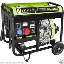 Zipper Power ZI-STE6700D Diesel Generator HighEndBrand - REMOTE - HANDLE - WHEEL