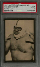 1973 Wrestling Annual #6 The Destroyer Hand Cut PSA 9 MINT Card