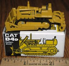 Caterpillar Cat D4D Crawler Dozer Scarifier NZG Toy 120 Made in WGermany 1/87 HO
