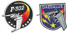 "Stargate SG-1 Daedalus/F-302 Screen Accurate 4"" Patch Set of 2 (SGPA-DA-Set-2)"