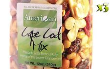 36oz Gourmet Style Bag of Cape Cod Cranberry Mix with Fruits & Nuts [2 1/4 lbs]