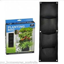 4 Pocket Vertical Wall Planter - Creates a vertical garden in any space!
