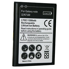 Replacement Battery 3500mAh For Samsung GALAXY NOTE 2 II, N7100, N7105T