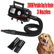 2800W Pet Dog Hair Grooming For Blaster Dryer Heater Two Speeds Drying Xmas Gift