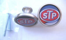 STP Oil Cabinet Knobs, STP Oil Logo Cabinet Knobs, Ricard Petty STP Oil