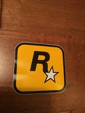 Grand Theft Auto V 5 Rockstar Games LOGO Sticker New Rare