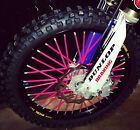 CRF 150 SPOKE COATS MX / colored spokes, covers, wraps, skins, wheels