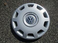 one genuine 1998 to 2001 Volkswagen VW Passat 15 inch hubcap wheel cover