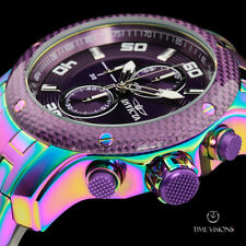 Invicta Men's 48mm Pro Diver Scuba Rainbow Plated Chronograph Bracelet Watch