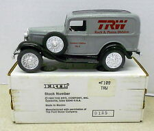 TRW #4 RACK & PINION ROGERSVILLE TN 1932 FORD 1994 DIECAST ERTL BANK #F109