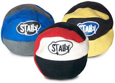 Stally footbag hacky sack dirtbag sand filled - Pack of THREE