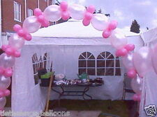 LINKING QUICK LINK BALLOON DIY PARTY ENGAGEMENT WEDDING ARCH BABY PINK & ROSE