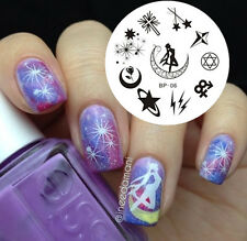 BORN PRETTY Nail Art Stamping Image Plate Template Cartoon Star Pattern BP06