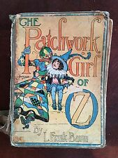 Antique Book -- The Patchwork Girl of Oz By L.Frank Baum 1913