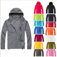 Men Women Windproof Waterproof Jacket Bike Bicycle Outdoor Sports Rain Coat